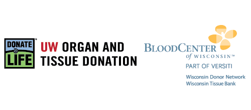 UW Organ and Tissue Donation and Wisconsin Donor Network Donor Families Honored