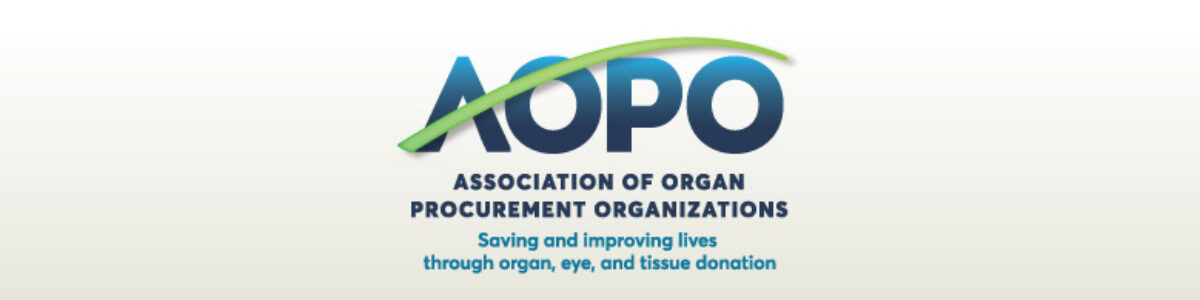 AOPO Leads Donor Remembrance Day; Event Supports the 50,000 Organ Transplants by 2026 Campaign to Save More Lives